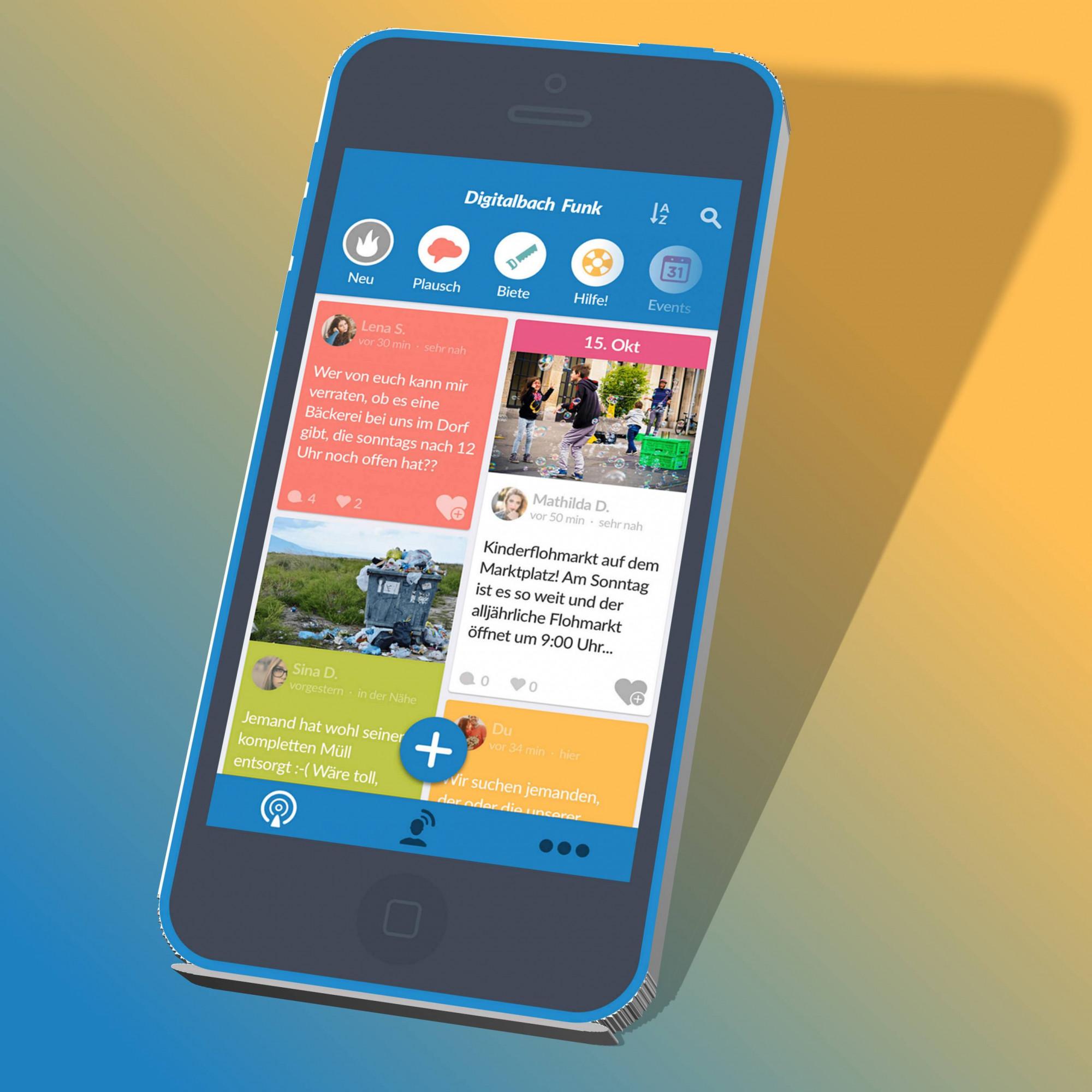 """""""Das Dorf in der Tasche"""" - Informationen digital und interaktiv!"""