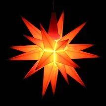 Sternenfenster im Advent und der Weihnachtszeit