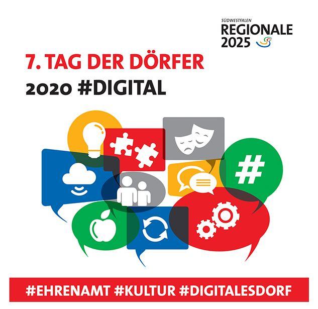 Digitaler 7. Tag der Dörfer am 30.10.20