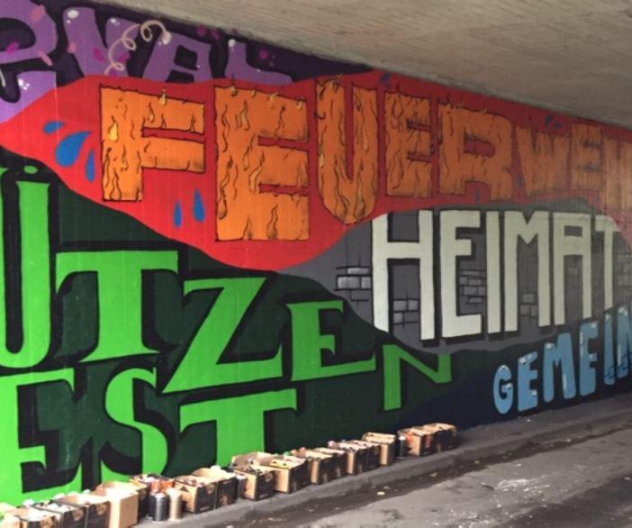 """""""Jugendraum"""" gestaltet die Unterführung der Bundesstraße"""