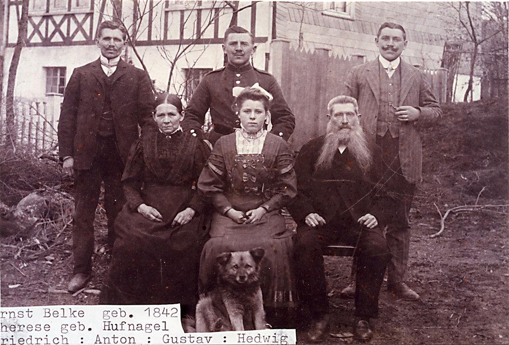 Familie Ernst Belke sen.